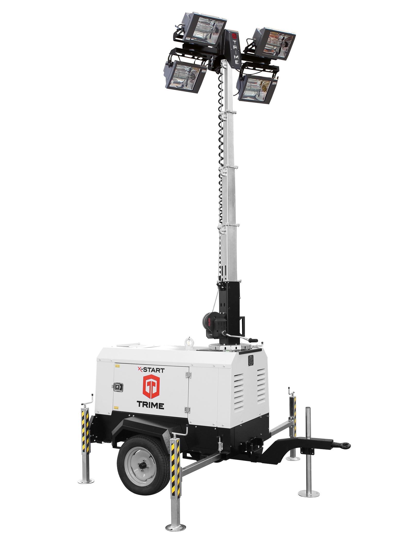 mobiele lichtmast met kubota motor
