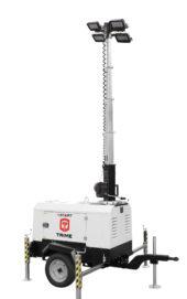 mobiele betaalbare lichtmast met dieselmotor