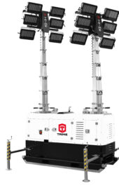 X-Double LED stationaire lichtmastaggregaat