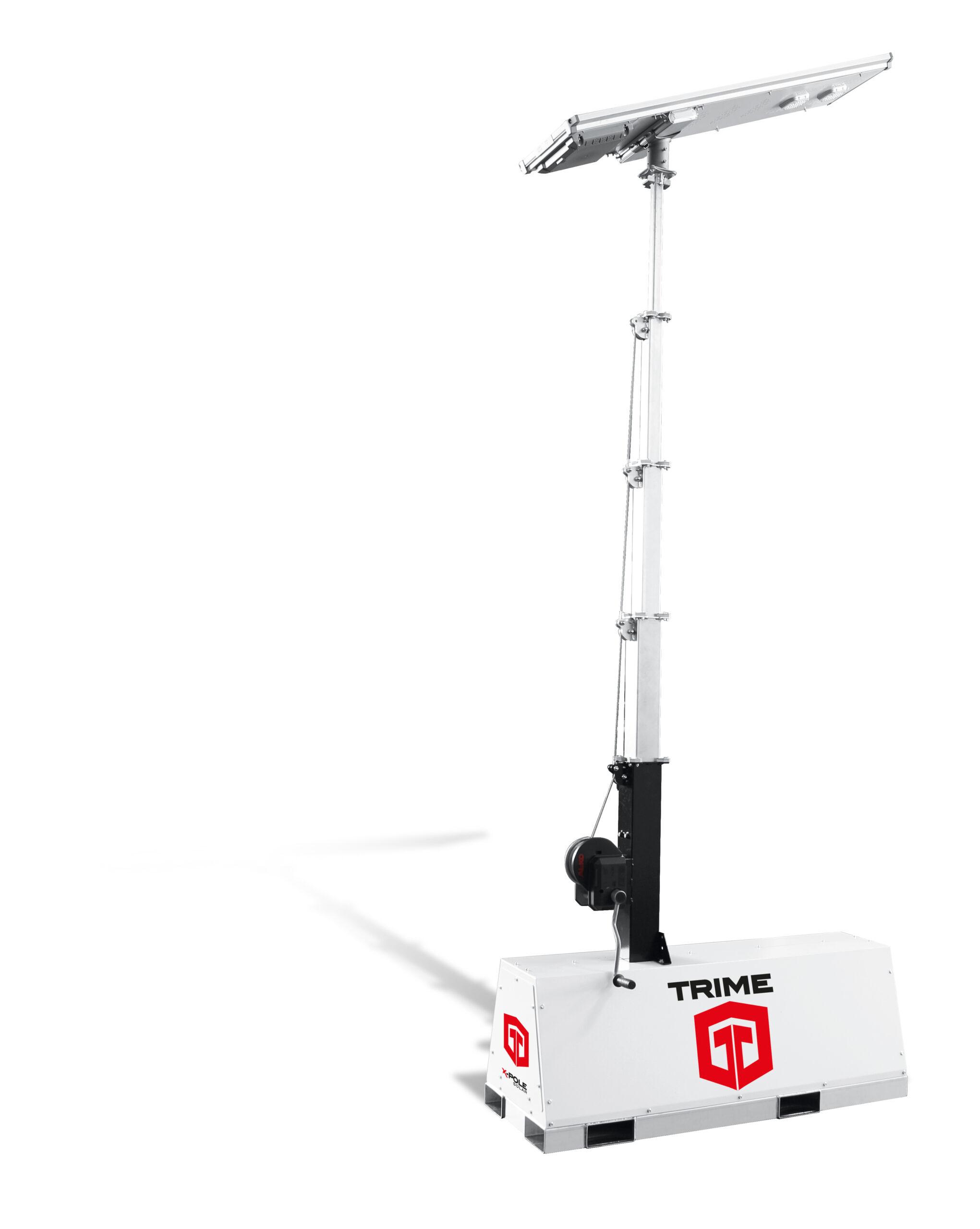 X-Pole Solar parkeerplaatsverlichting-mobiele-lichtmast-fietspaden