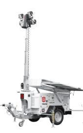 X-Solar Hybrid mobiele lichtmast met zonnepanelen